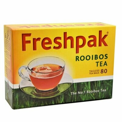 Freshpak Rooibos Tea - Tagless 80 Tea Bags