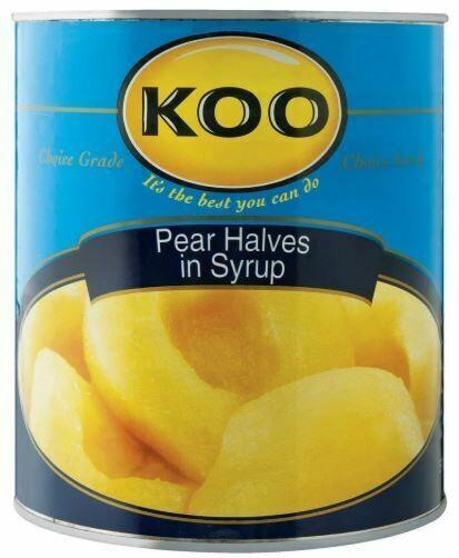 KOO Pear Halves in Syrup