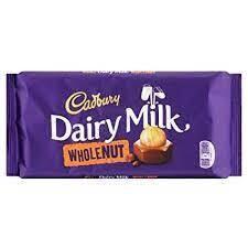 Cadbury Dairy Milk WholeNut 200g Slab