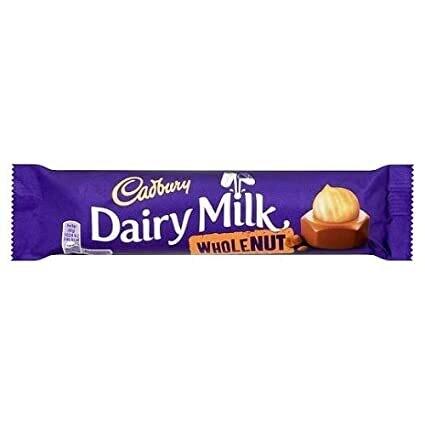 Cadbury Whole Nut 45g Bar