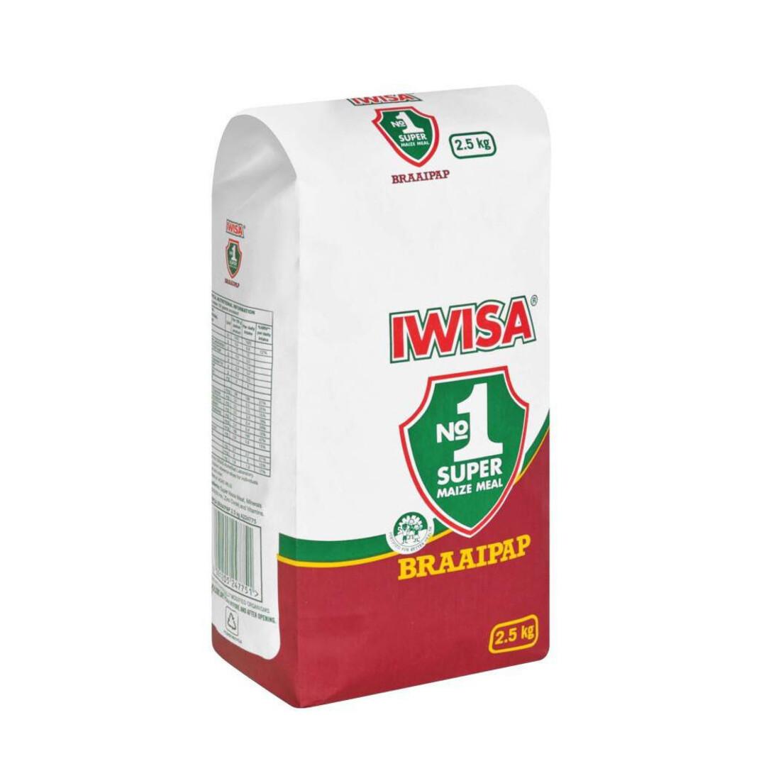 Iwisa Braaipap 2.5kg