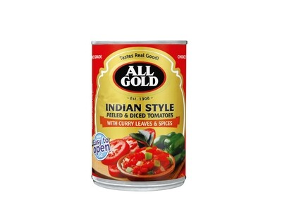 All Gold Indian Style With Curry Leaves & Spices