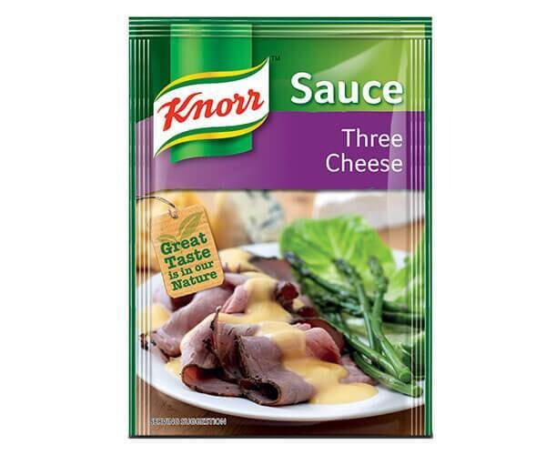 Knorr Three Cheese Sauce 28g
