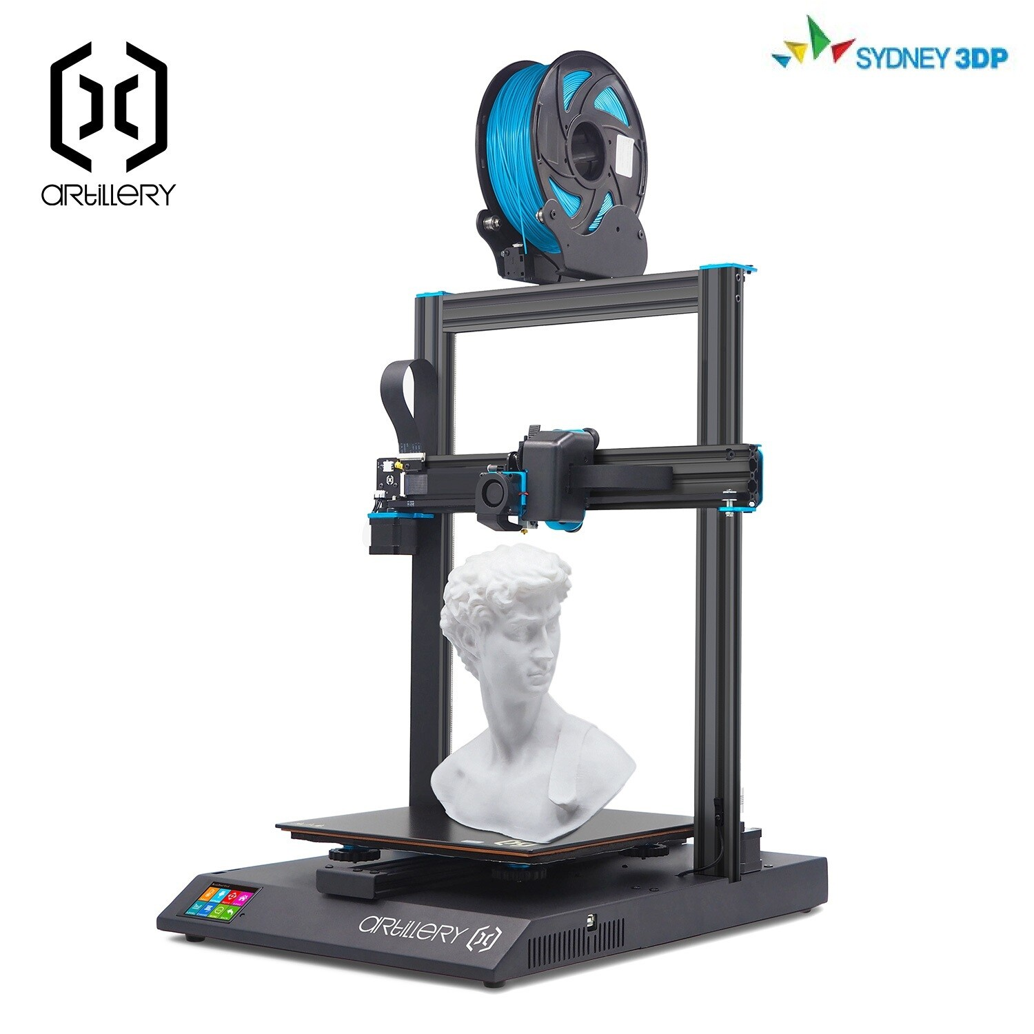 """Artillery 3D - Sidewinder X1 """"Extremely popular, well reviewed online. Excellent bang for your buck"""""""