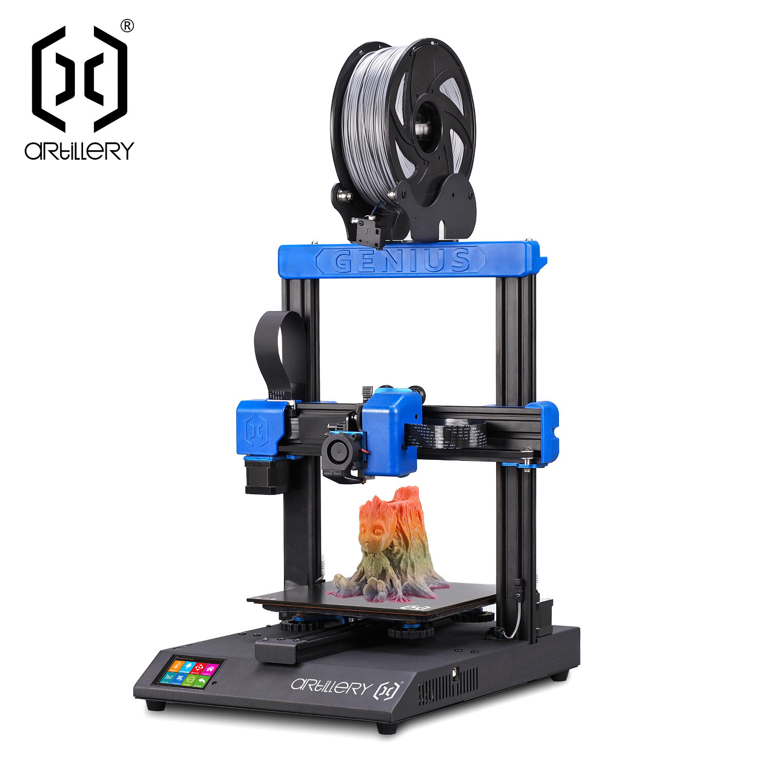"""Artillery 3D - Genius """"New model for 2020. Fully featured like it's brother Sidewinder X1 but in a smaller footprint. Excellent bang for your buck"""""""