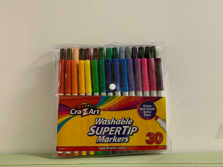 Washable Super Tip Markers