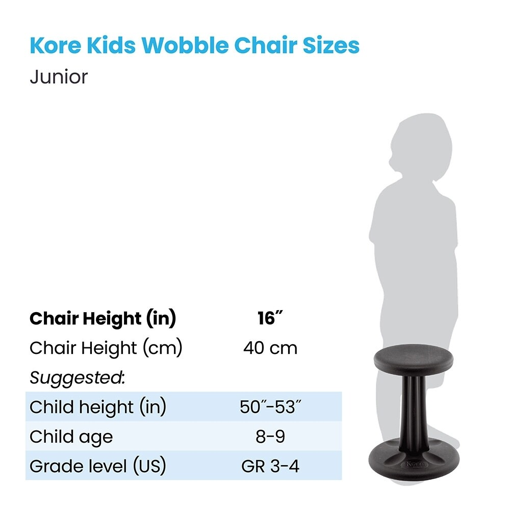 KORE Junior Wobble Chair 16""