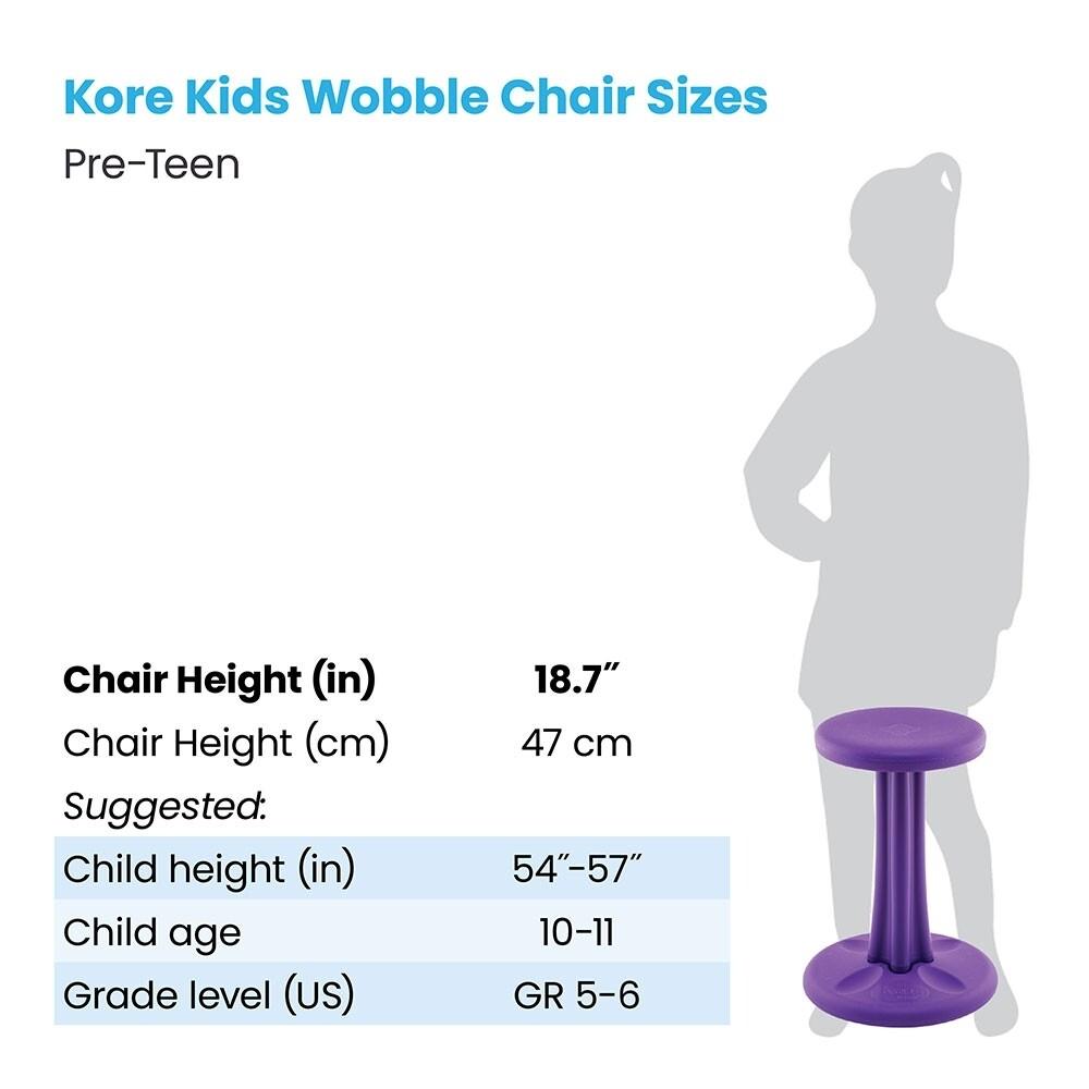 """KORE Pre-teen Wobble Chair 18.7"""""""