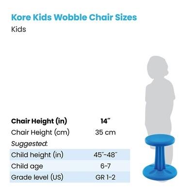 KORE Kids Wobble Chair 14