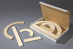 HWT® Wooden Pieces Set for Capital Letters  (HWT®砌大階字母木條)
