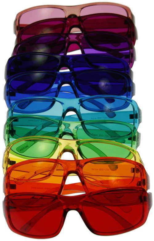 Colour Therapy Glasses (10 colours set)