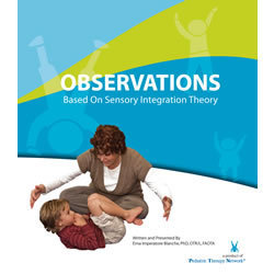 Book: Observations Based on Sensory Integration Theory
