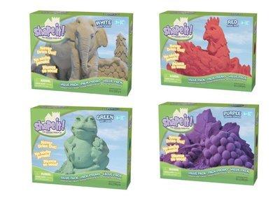 Shape it! Sand (Set of 4 Colours, 1lb Each)