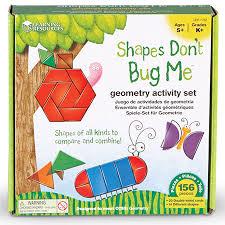 Shapes Don't Bug Me Geometry Activity Set