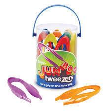 Jumbo Tweezer 6 pcs set (珍寶夾6件裝)