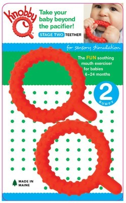 Knobby Qs  (Set of 2 / Red)