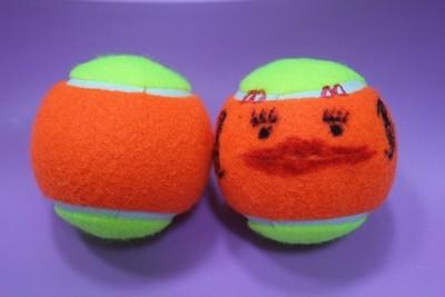 Kids Tennis Ball (60' Tennis Court Use / without Cutting) 小童網球 (60'網球場用 / 未剪口)