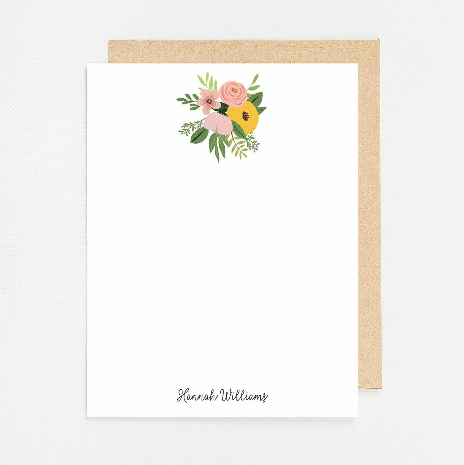 Floral Bunch Flat Notecards