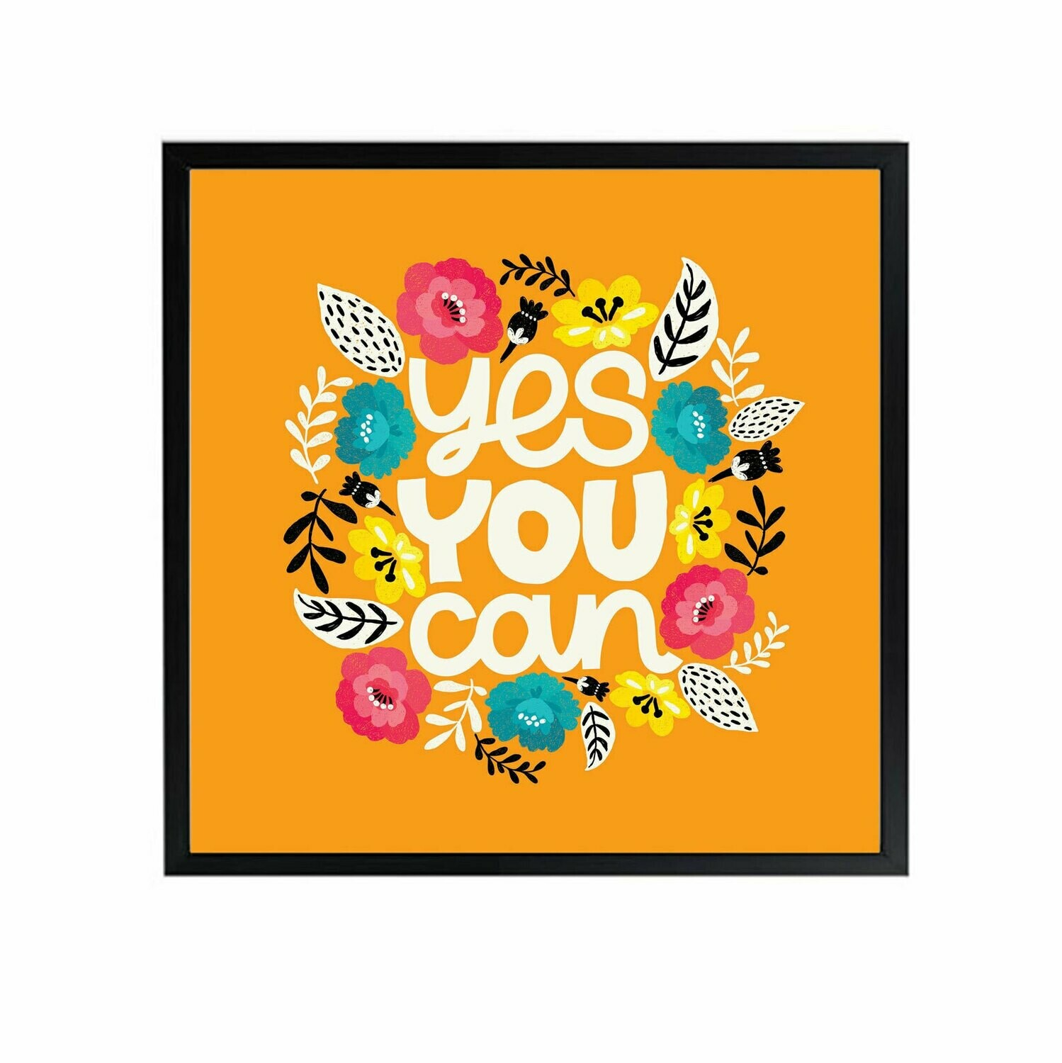 Yes You Can Wall Art DIGITAL DOWNLOAD PRINT