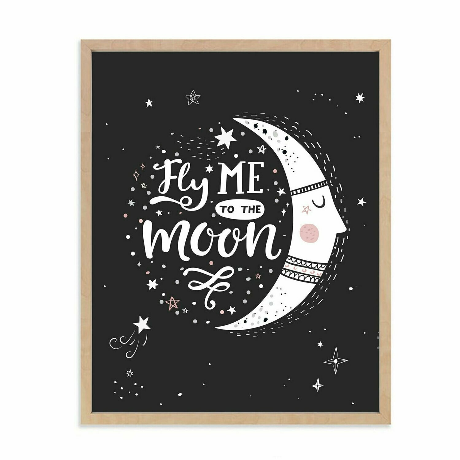Fly me to the Moon Wall Art DIGITAL DOWNLOAD PRINT