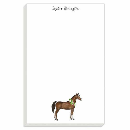 Watercolor Horse Notepad