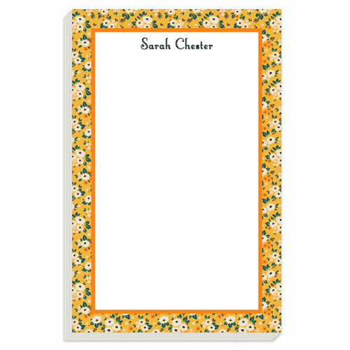 Bright Yellow Posies Notepad