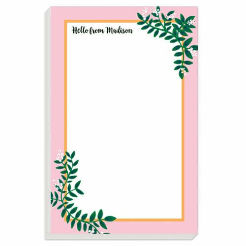 Pink Berries Notepad