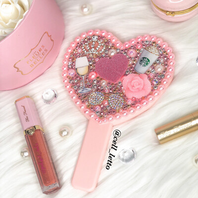 Customized Small Hand Mirror Starting At