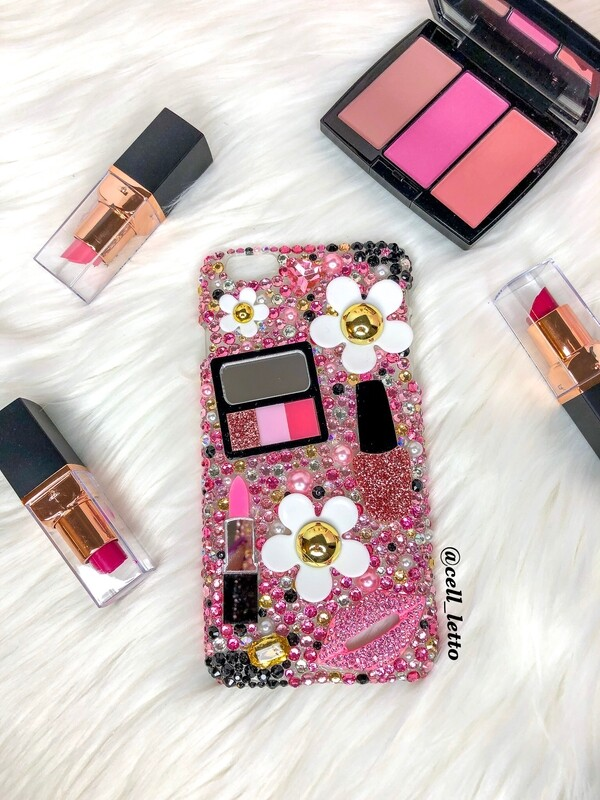 Girly Makeup Design Phone Case