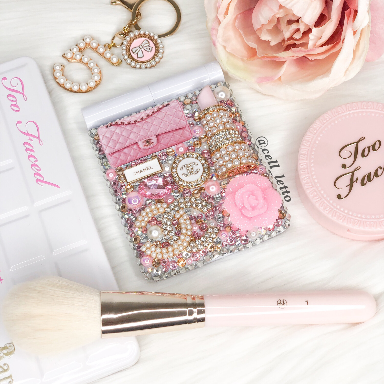 Princess Pink LED Compact Mirror