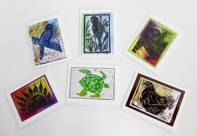 Kids' Art Cards - Set of 6 cards