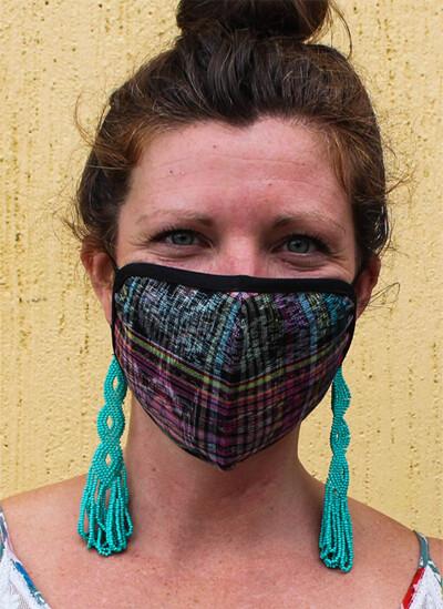 Jaspe Fabric Face Masks - Medium - Set of 3