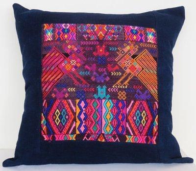 Chichicastenango Huipil Cushion Cover