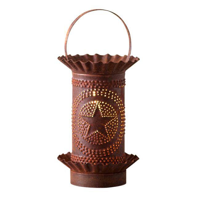 Mini Warmer Star/Rustic Tin