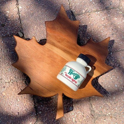 Maple Leaf Cutting Board