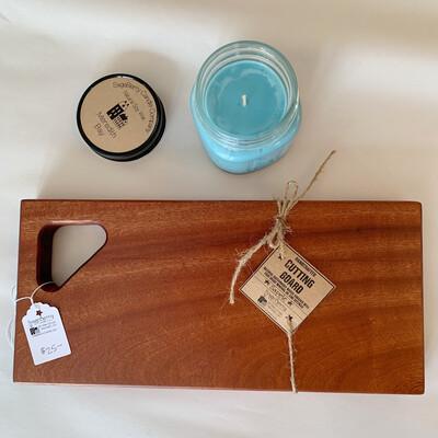 Sapele Cutting Board