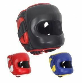 Ringside Deluxe Face Saver Boxing Headgear-Small/Medium