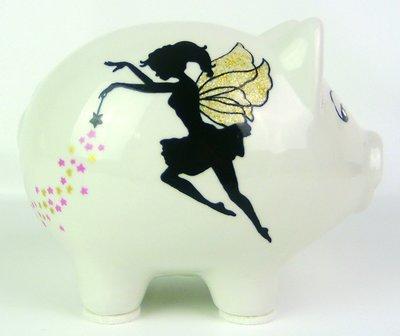 Sparschwein Fee / Elfe
