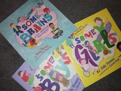 Some Kids Books  - Set of 3