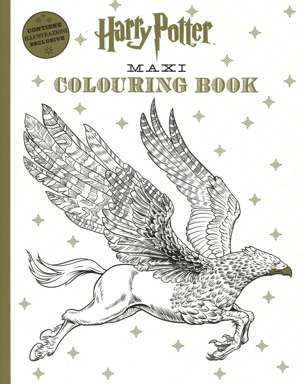 Harry Potter maxi colouring book
