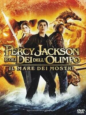 Percy Jackson E Gli Dei Dell'Olimpo - Il Mare Dei Mostri DVD