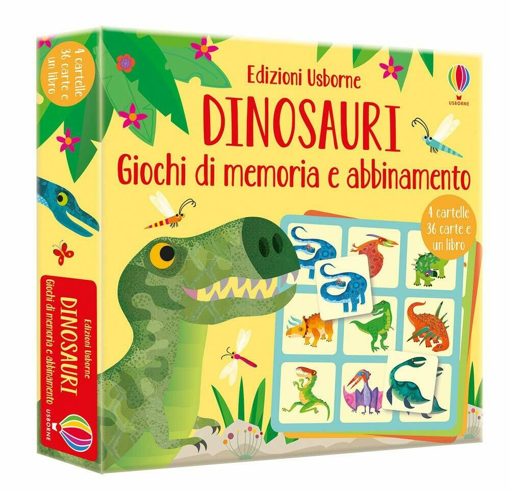 Dinosauri - Giochi di memoria e abbinamento