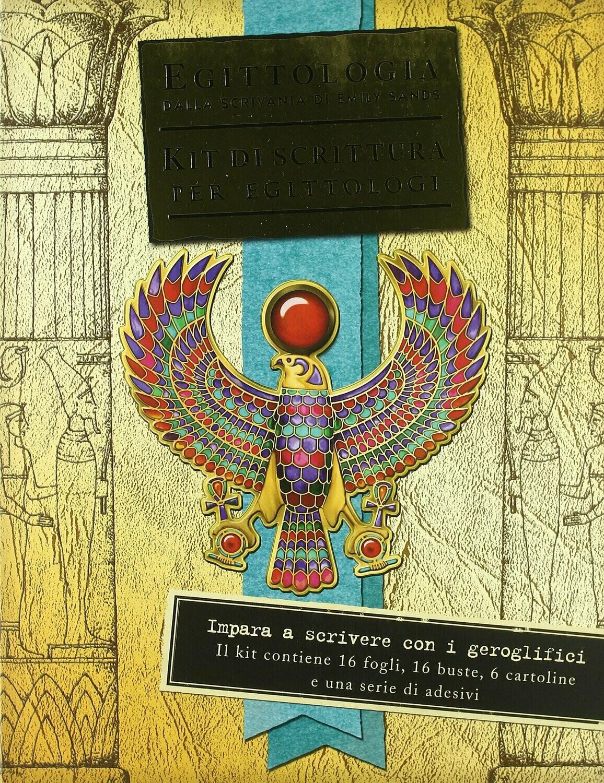 Egittologia. Kit di scittura per egittologi