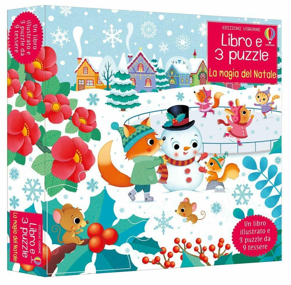 La magia del Natale. Con 3 puzzle