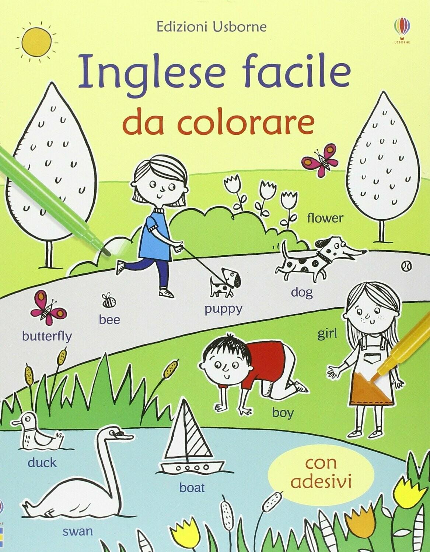 Inglese facile. Con adesivi