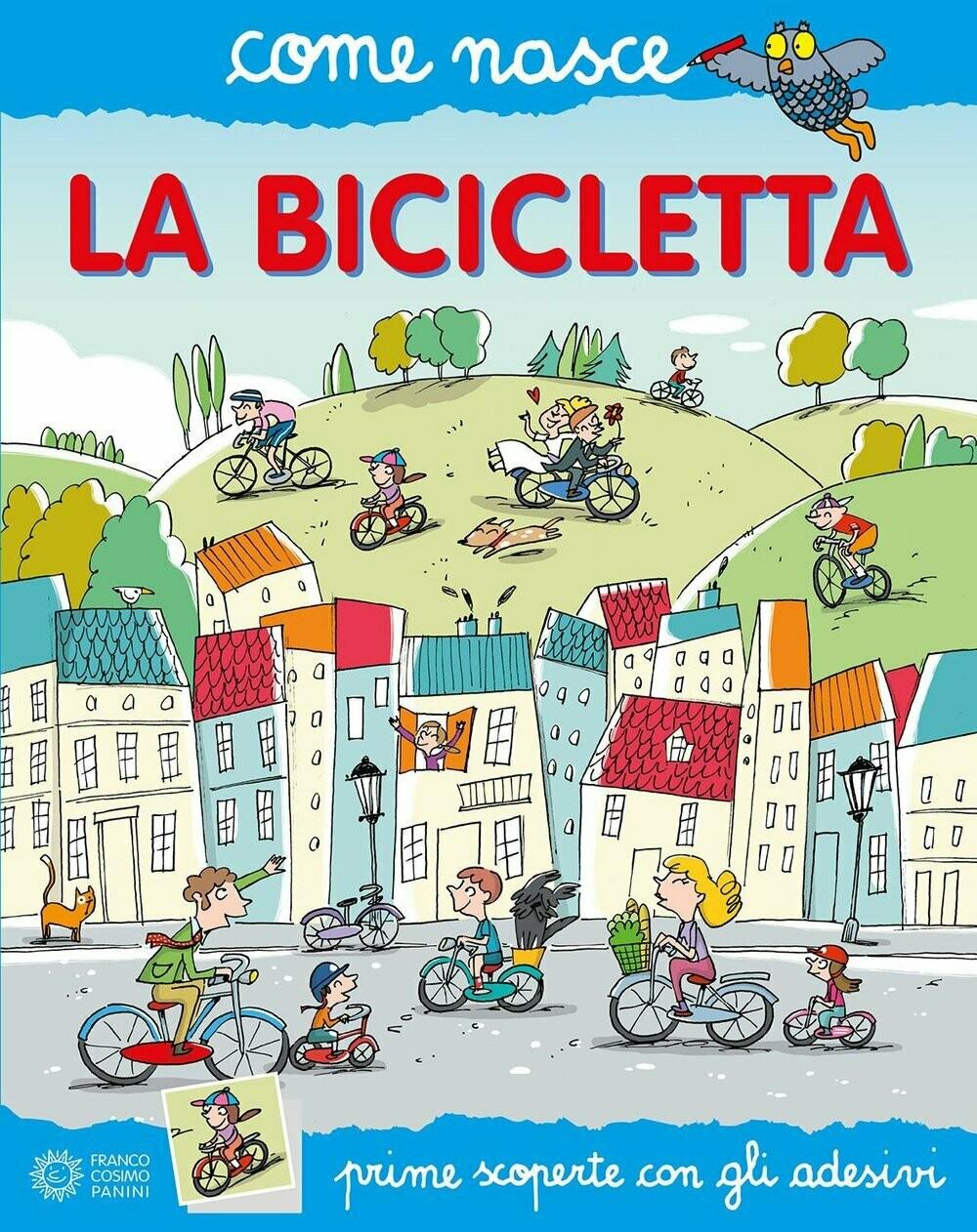 La bicicletta. Con adesivi