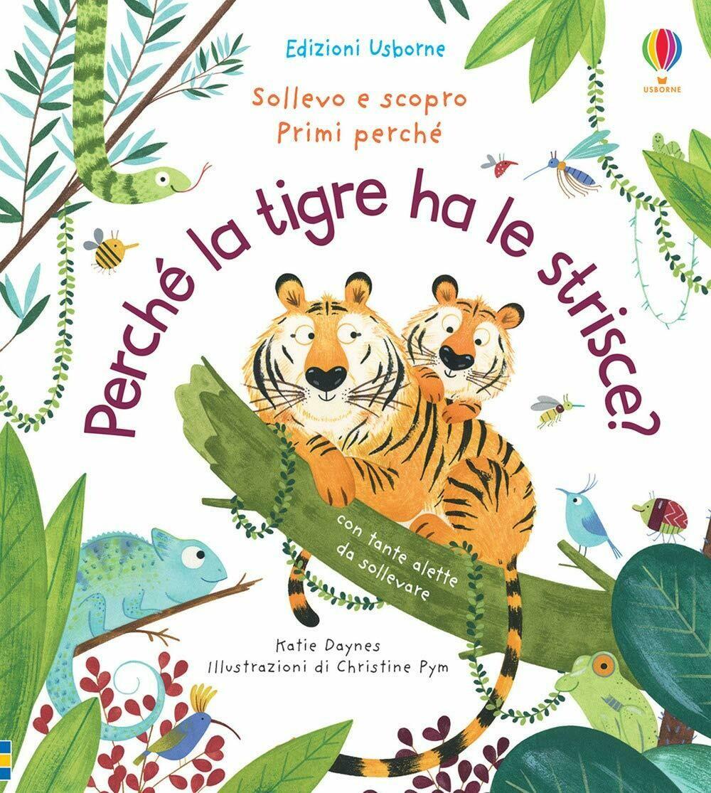 Perché la tigre ha le strisce?