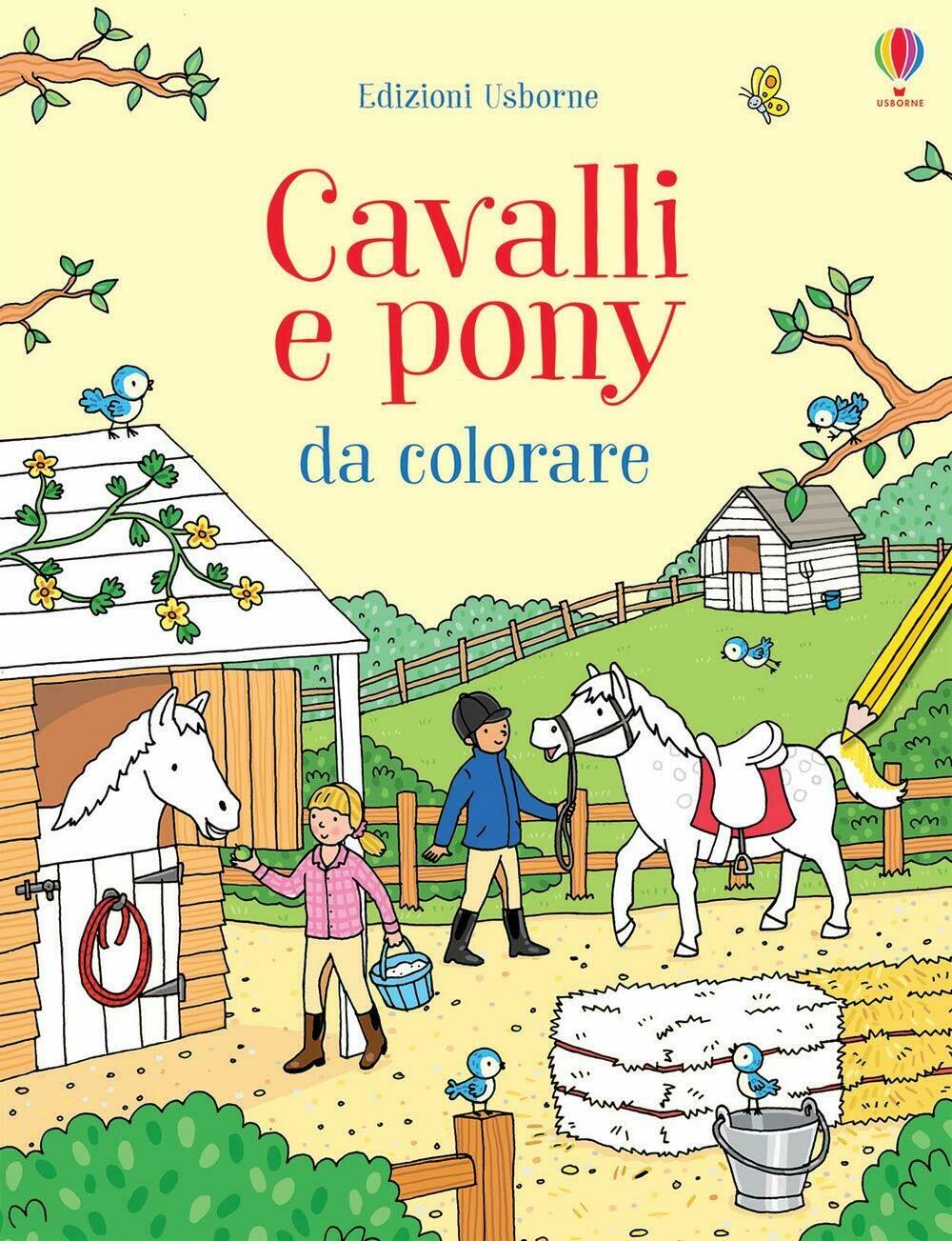 Cavalli e pony da colorare