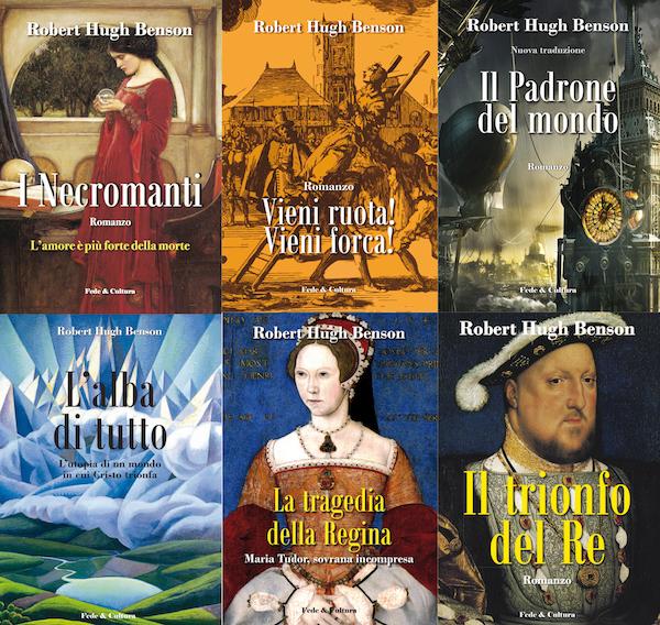Collezione 6 romanzi di Benson