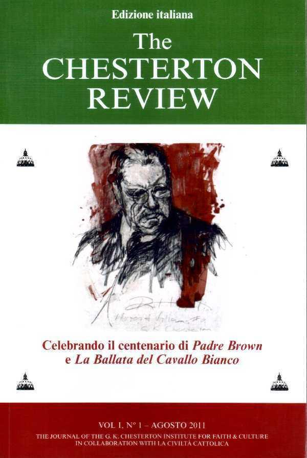 The Chesterton review - Vol I, N°1 - agosto 2011